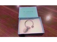 Please Return To Tiffany & Co New York - Solid Sterling Silver Key Ring.