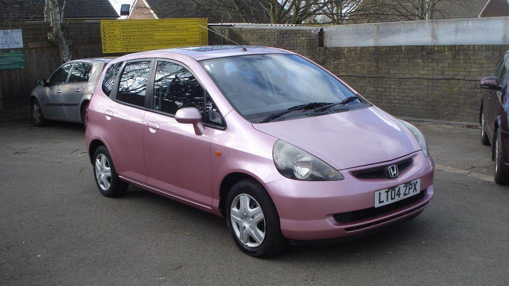 2004 04 Honda Jazz 1 4 Dsi Se 5 Door In Metallic Pink 12 Months Mot Just In Pics Too Follow