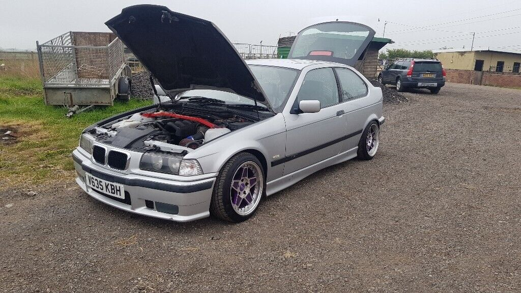 BMW E36 Compact Strong Drift car, loads of mods, looks the part and mot  till November | in Hartlepool, County Durham | Gumtree
