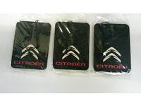 Citroen C1,C2,C3,C4,C5,C6, SAXO, BERLINGO * Car Air Freshener **Deal 3 for £4.99