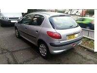 Peugeot 206 Diesel manual , Mot till 12/2016 Ready to Drive 5 Door Hatchback