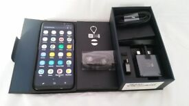 New Condition Samsung S8 Plus Black Unlocked 64 GB With Box And All Accessories.