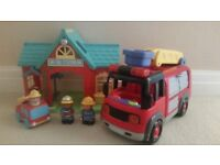 HAPPYLAND: Fire Station