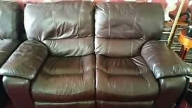 Sofa 2 seater and two single chairs