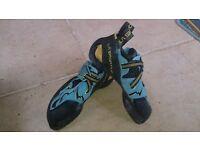 Sportiva, Evolv and Boreal Climbing Shoes