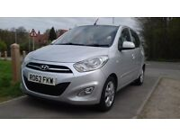 Hyundai i10 2013 1.2 petrol, ONLY £20 Road Tax