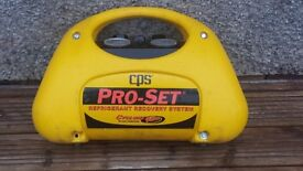 BARGAIN CPS PRO-SET CR700 CYCLONE OIL LESS REFRIGERANT RECOVERY SYSTEM HVAC