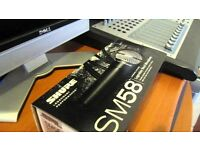 Shure SM58S Switch Mint