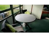 New 4-6 seater shabby Chic Dining Table