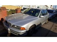 BMW E39 520I STARTS AND DRIVES WITH VALID MOT - SPARES OR REPAIR 5 SERIES