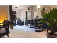 Hair Stylist Chair to rent in a Boutique Hair Salon in Kings Cross