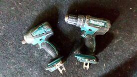 Makita impact body and drill
