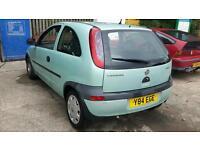 1.0 Vauxhall Corsa 1 year MOT