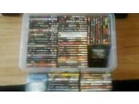 80 dvd's