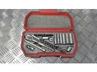 teng tools 1/4 drive socket set