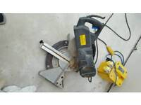Chop saw and 110v transformer