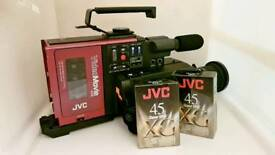 Vintage/Retro JVC Compact VHS Video Camcorder