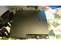 PlayStation 3 mint condition with 2pads and 49 top games
