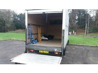 RELIABLE MAN WITH LARGE LUTON VAN FOR HIRE MOTHERWELL AREA.LUTON VAN WITH TAILIFT