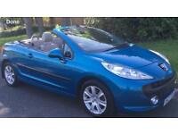 2009 Peugeot 207 cc sport convertible just had full service