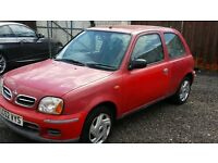 Nissan micra 1.0, automatic, 2002, low miles