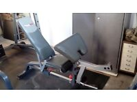 Total Body work out Smith Gym with utility bench and weights.