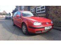 2002 VW Golf 1.4 (LONG MOT)