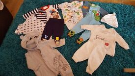 baby boy first size outfit bundle