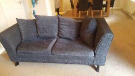 3 + 2 seater fabric sofa
