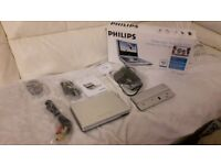 Nearly New Phillips Portable DVD Player Very Good Condition