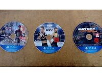 Ps4 Games 15 each Watchdogs 2 Ufc 2. Pay day 2 sleeping dogs