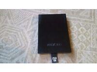 MICROSOFT XBOX 360 250 GB HARD DRIVE