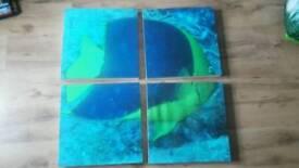 Fish canvas picture
