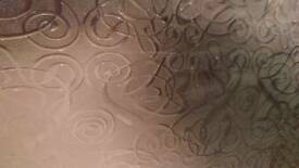 Opaque tempered patterned glass - 3 large sheets