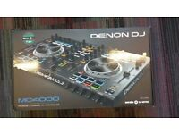 Brand New Denon MC4000 Controller + UDG case
