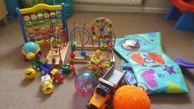 Baby bundle toys