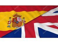 Spanish for english swap
