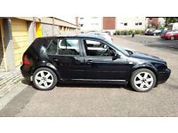 2001 Volkswagen Golf GTi 1.8t, Black, 5 door, AUM engine model.