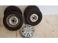 Vauxhall Combo Std Wheels & Tyres With Trims