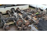 Mercedes Sprinter Van Back axle 2005 with and without ABS control