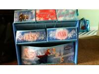 Frozen storage unit