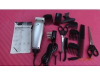 Electric Shaver with all accessories and instruction book. Brand new.