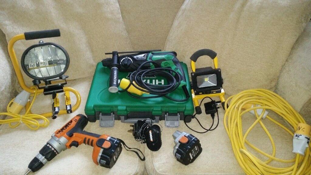 Asorted tools job lot