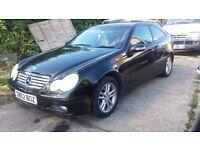 Mercedes c180 03 reg