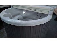 LA Spas Tortola Hot Tub with LED lighting