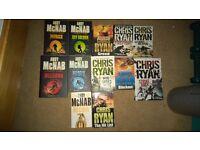 Chris Ryan and Andy McNab Books