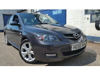 2006 MAZDA 3 SPORT BOSE 2.0 150bhp 5DR 6-SPEED GREY NEW MOT NEW CLUTCH FSH VGC