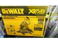 DEWALT DCS777N FLEXVOLT XR MITRE SAW 216mm 18/54V BARE UNIT