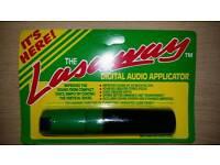 Lasaway digital audio applicator