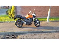 Yamaha Fazer Fz6 600cc, Orange